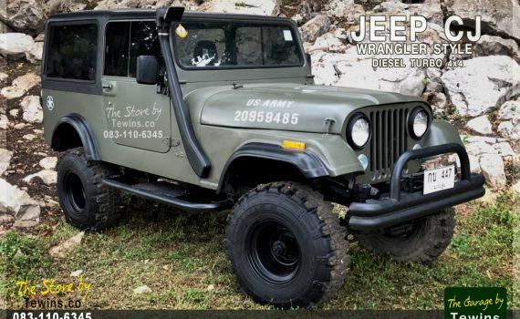 ขายรถ Jeep Willys CJ หลังคาแข็ง Diesel Turbo 4x4