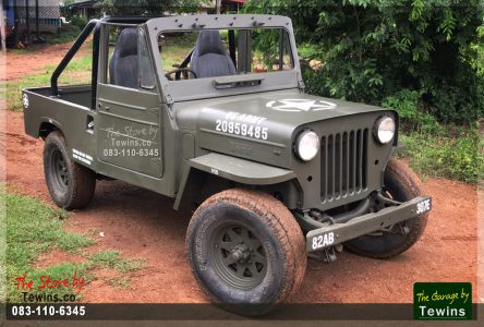ขาย Jeep Willys J32 กระบะดีเซล 4×4
