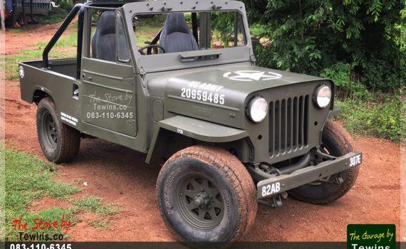 ขาย Jeep Willys J32 กระบะดีเซล 4x4